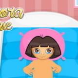 Baby Dora nap time