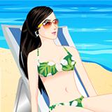 Summer Blue Beach
