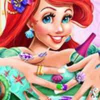 Mermaid Princess: Nails Spa
