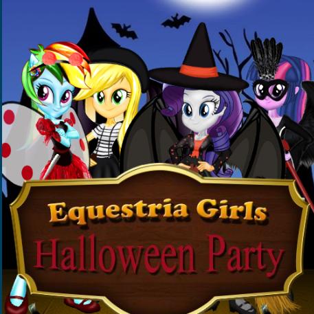Equestria Girls Halloween Party