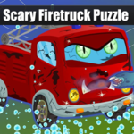 Scary Firetruck Puzzle