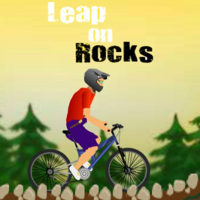 Leap On Rocks