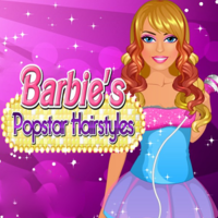 Barbie's Pop Star Hairstyles