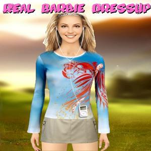 Real Barbie Dress Up