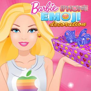 Barbie iPhone Emoji Decoration