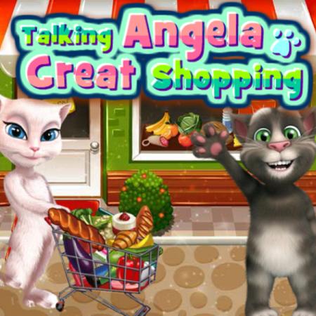 Talking Angela Great Shopping
