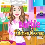 Barbie Kitchen Cleanup