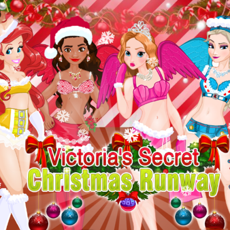 Victorias Secret Christmas Runway