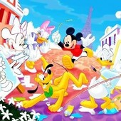 Mickey & Friends Painting Coloring Math Game