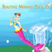 Beautiful Mermaid Dress Up Game