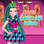 Barbie Monster High Uniform