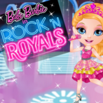Baby Barbie In Rock 'N Royals