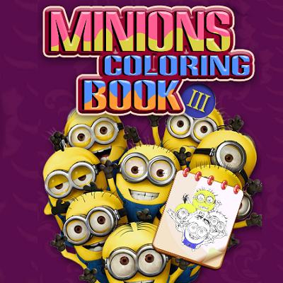 Minions Coloring Book III