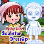 Baby Hazel: Sculptor Dress Up