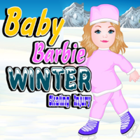 Baby Barbie Winter Skating Injury