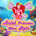 Ariel Princess Winx Style