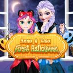 Anna & Elsa First Halloween
