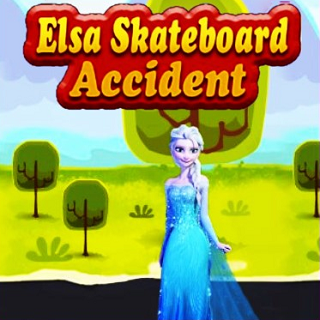 Elsa Skateboard Accident