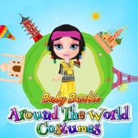 Baby Barbie Around The World Costumes