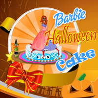 Barbie Halloween Cake