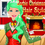 Barbie Christmas Hair Style