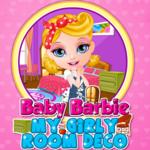 Baby Barbie: My Girly Room Deco