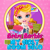 Baby Barbie: My Girly Room Deco