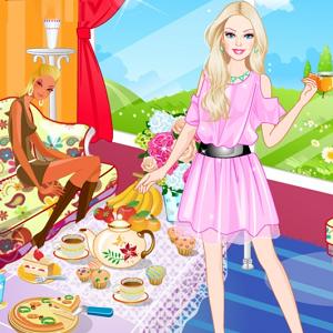 Barbie Tea Time