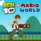 Ben 10 In Mario World