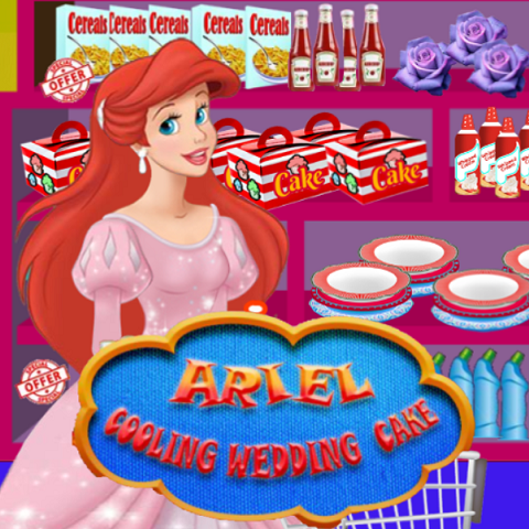 Ariel: Cooking Wedding Cake