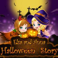 Elsa And Anna: Halloween Story
