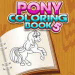 Pony Coloring Book 5