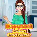 Rapunzel: Modern College Fashion