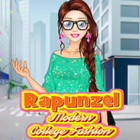 Rapunzel: Modern College Fashion