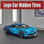 Lego: Car Hidden Tires