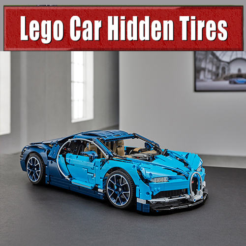 Lego: Car Hidden Tires
