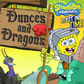 SpongeBob SquarePants: Dunces And Dragons Lost In Time