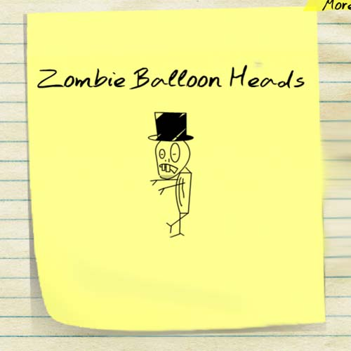 Zombie Balloon Heads