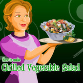 How to Make Chilled Vegetable Salad