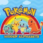 Pokemon: Hidden Alphabets