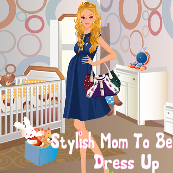 Stylish Mom To Be Dress Up