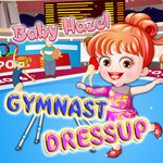 Baby Hazel: Gymnast DressUp