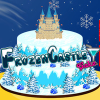 Frozen Castle: Cake