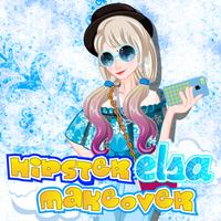Hipster Elsa Makeover