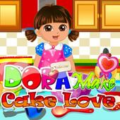 Dora: Make Cake Love