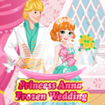 Princess Anna: Frozen Wedding