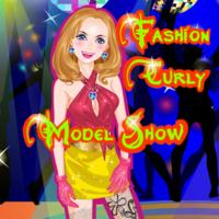 Fashion Curly Model Show