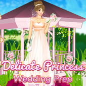 Delicate Princess Wedding Prep