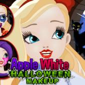 Apple White: Halloween Makeup