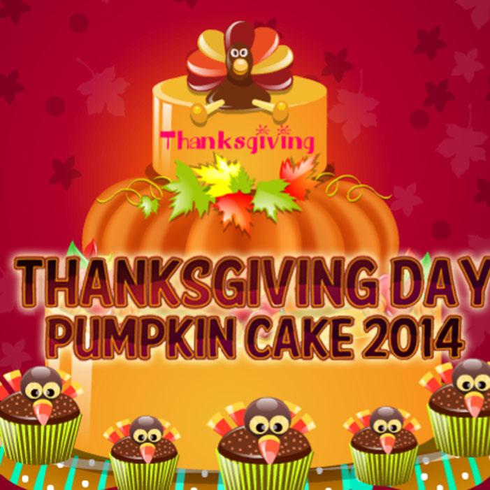 Thanksgiving Day: Pumpkin Cake 2014
